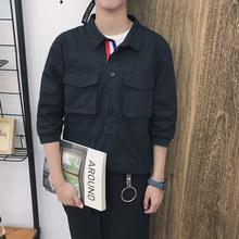 制定款套装港风 短袖t恤套装男 裤子九分裤 S16P138(不低于155)