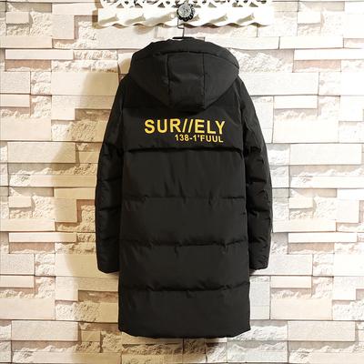 【控218】男冬季中长款加厚外套潮流韩版棉袄冬天棉服BM80 TP145