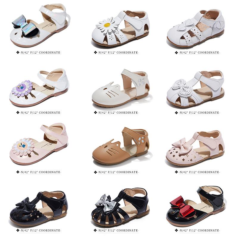 斯纳菲童鞋【爆款宝宝鞋】夏季女童学步凉鞋包头软底舒适时装鞋子