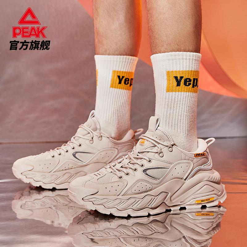 匹克态极征途男士户外鞋2021新款增高耐磨防滑运动休闲鞋男老爹鞋