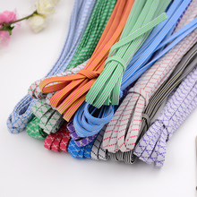 Home color wide flat elastic band rubber band trousers belt double thickening elastic rope rubber band accessories