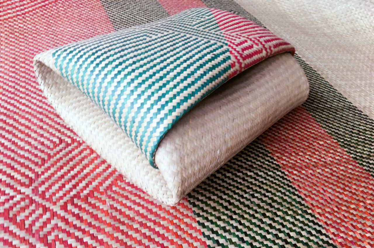 11月19日最新优惠纯手工编织传统纯天然可折叠草席