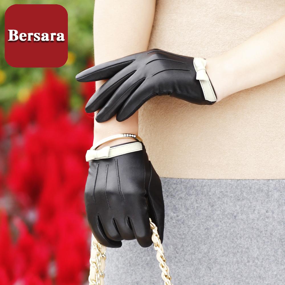 Женские перчатки с мехом Артикул 41582712084