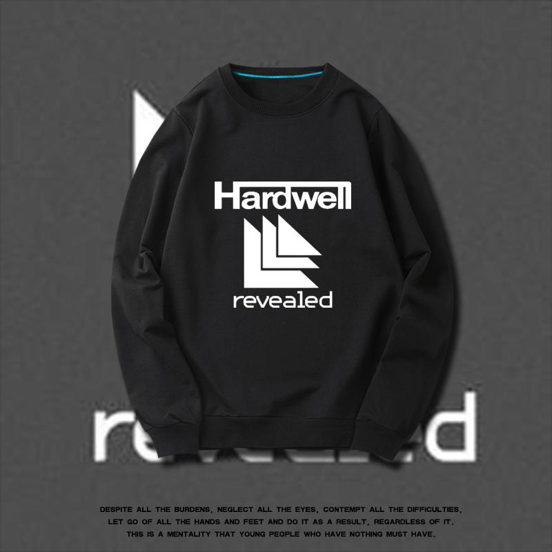 欧美潮牌DJ Hardwell  revealed厂牌电音春季卫衣男时尚薄款外套