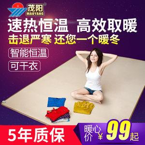 茂阳碳晶地暖垫发热暖脚垫暖手宝电热地毯发热脚垫移动取暖地板