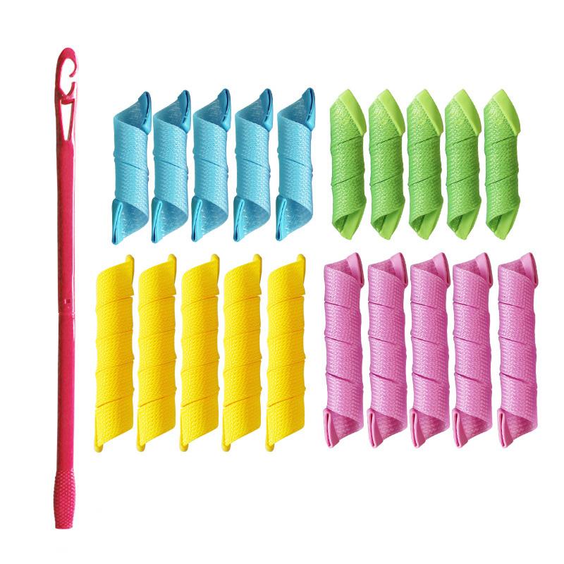 易多帮卷发棉卷发器不伤发魔发卷DIY大小波浪魔法棒的套装组