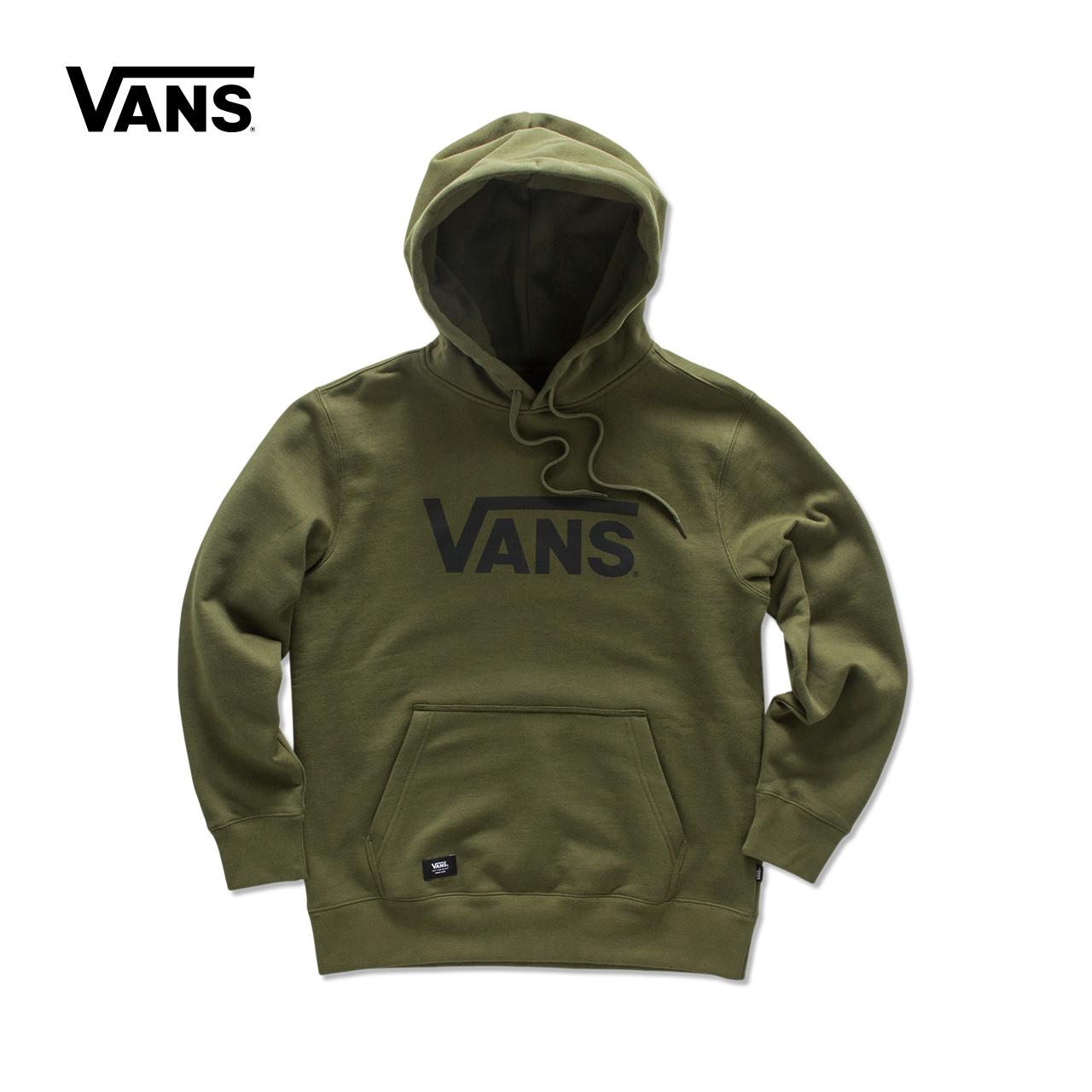 Vans/ модель этот весна армия зеленый мужской закрытый свитер |VN0A341HPSX