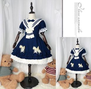 兒童洛麗塔洋裝日常lolita全套女童小學生便宜日系蘿莉公主連衣裙