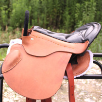 Horse saddle with Debao dwarf pony child tourist pommel horse saddle saddle full set of harness saddle