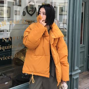 2020反季新款冬装女外套短款棉衣特价清仓棉袄韩版宽松羽绒棉服潮
