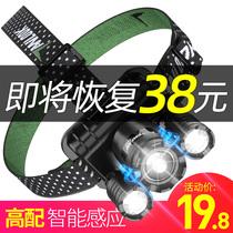 c8特种兵LED户外打猎防水身多功能5000手电筒强光可充电超亮远射