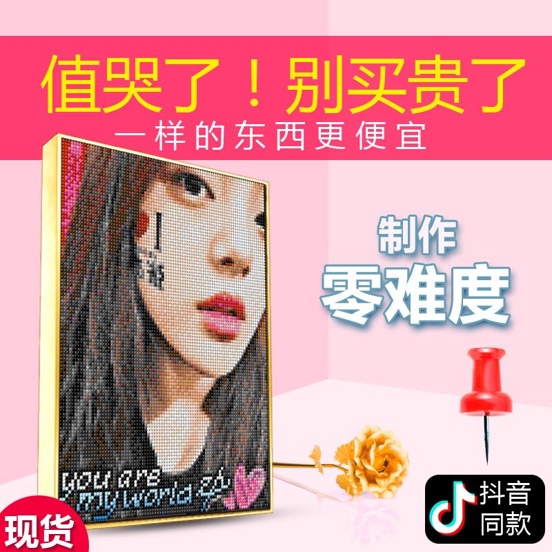 Mei Jia Nail Painting Pins DIY Custom Photo ручная работа Создайте креативную головоломку на день рождения в подарок подруга