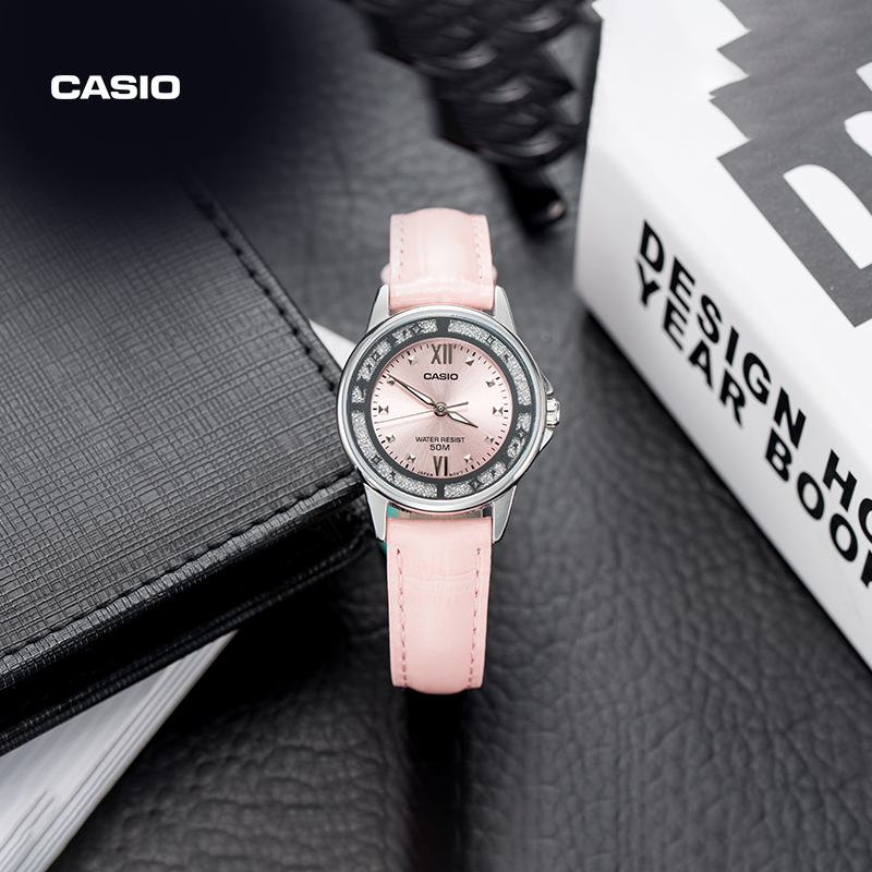 Casio flagship store waterproof watch female quartz watch official authentic of CASIO official website ltp-1391