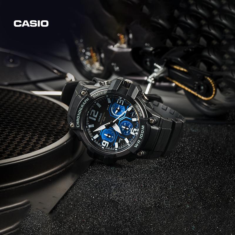casio旗舰店mcw-100h运动防水手表