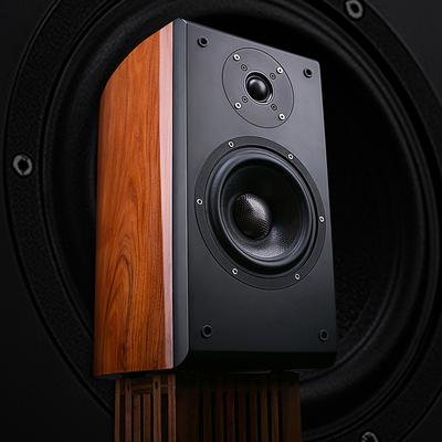 拓利好SESP6升级版发烧HIFI书架音箱原装进口喇叭无源高保真音响