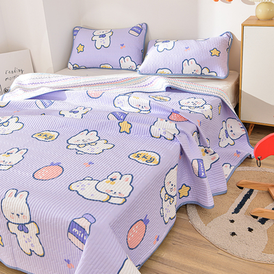 Zhai Xiaobai new double-sided pure cotton cotton bed cover four seasons universal non-slip cotton tatami sheets customization