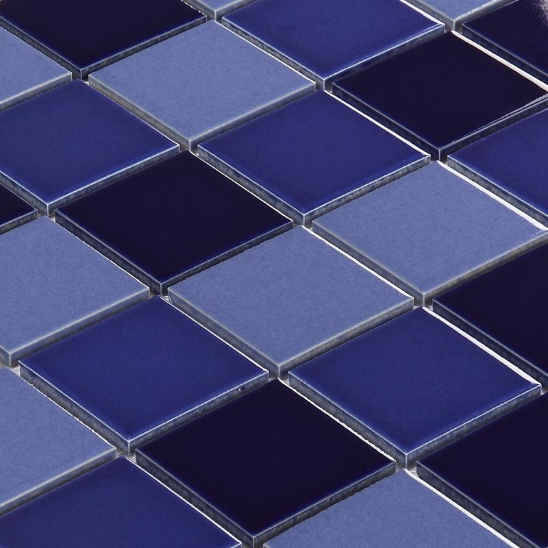 [尚槟榔]696蓝色地中海泳池陶瓷马赛克卫生间防滑地砖浴室内墙贴