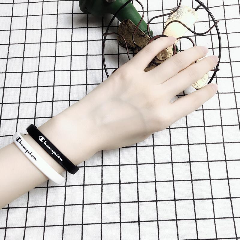 手环情侣礼物一对个性男女欧美街头简约潮人运动腕带韩版学生手链需要用券
