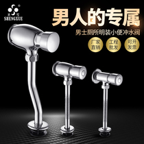 All copper urinal flushing valve hand-pressed urinal flushing Valves toilet urinal Switch delay valve