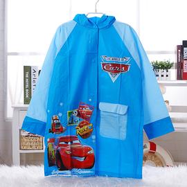 赛车汽车总动员闪电麦昆卡通学生男儿童雨衣带书包位加厚雨披雨服