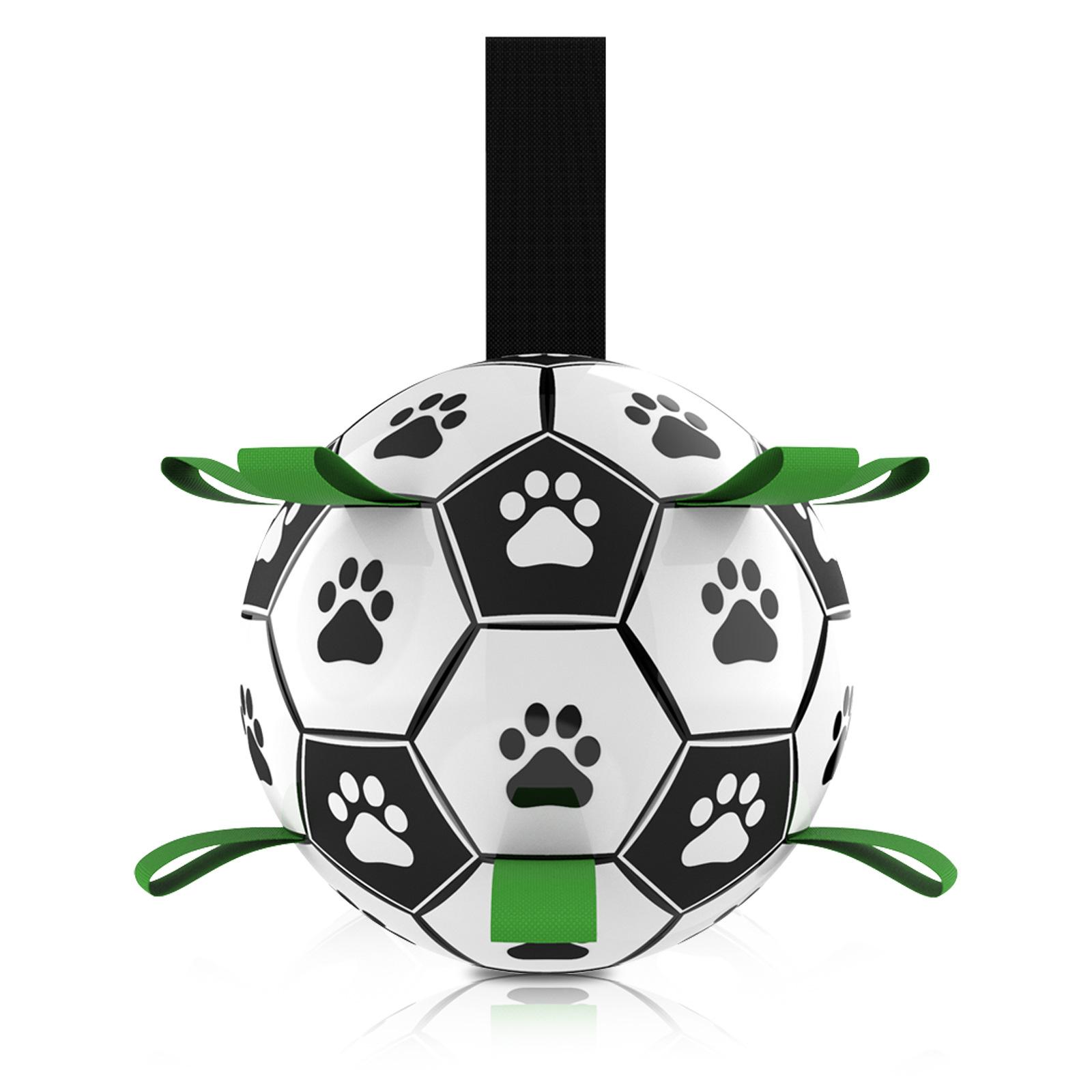 狗狗玩具球足球耐咬解闷磨牙互动球拔河泰迪柯基小狗幼犬宠物用品