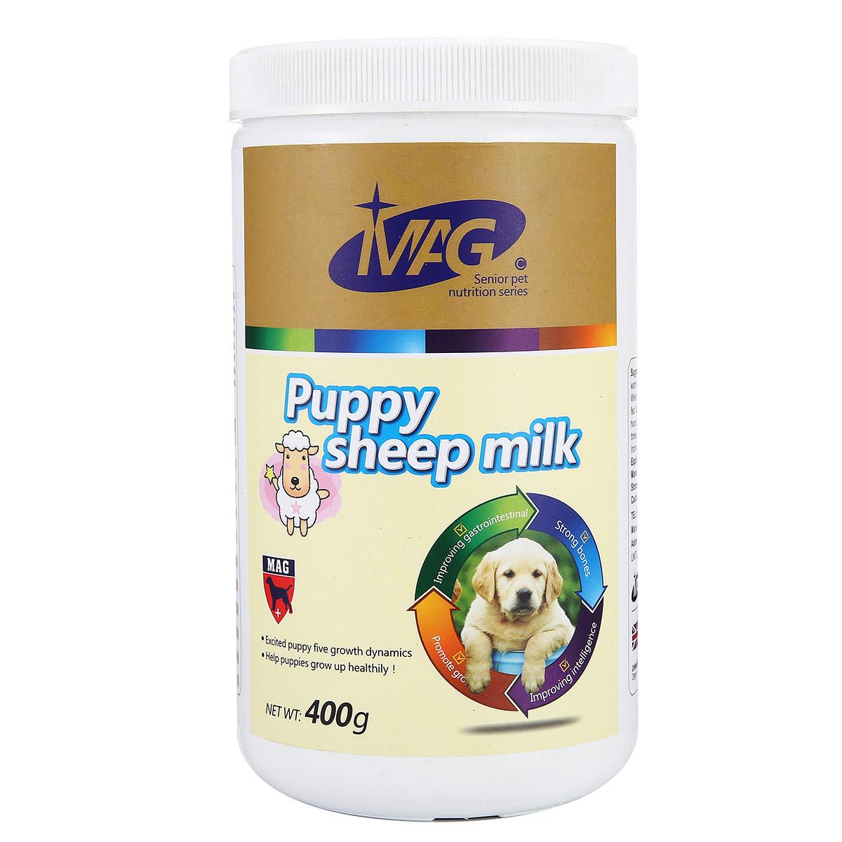 波奇網 寵物營養品寵物羊奶粉MAG幼犬山羊奶粉400g泰迪 24省包郵