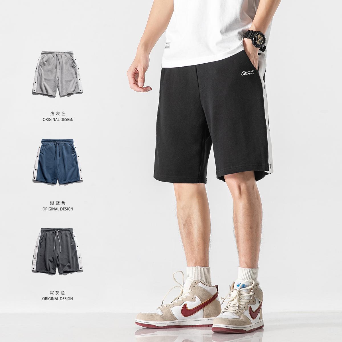 侧边扣短裤子(售价低于98元投诉) P70 货号:G212V054
