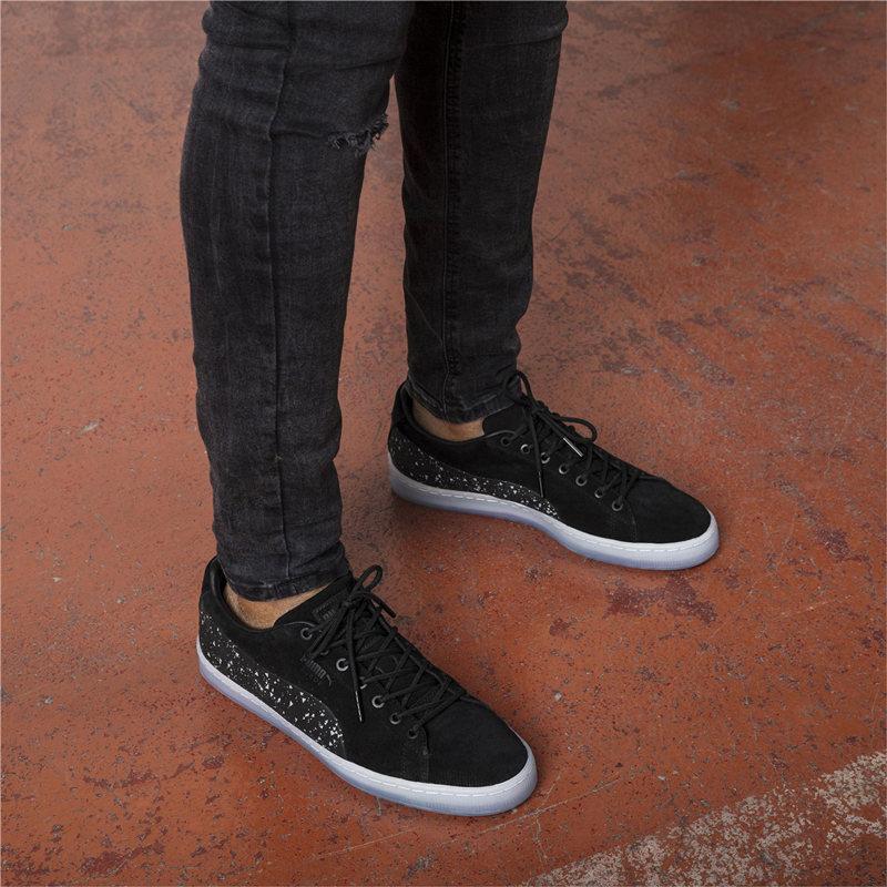 美��代�PUMA  NATUREL 水晶底果�龅� ��墨彪�R�名款男板鞋
