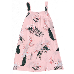 夏季吊带纯棉棉绸学生公主可爱睡裙