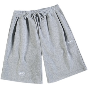灰色运动夏季外穿休闲显瘦5分短裤