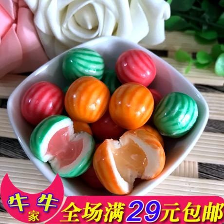 新品 漂亮兔爆浆泡泡糖 糖果喜糖 休闲零食 18g水果味口味 满包邮