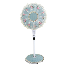All-inclusive round lace fan dust cover electric fan hood fabric cover floor household fabric fan sleeve