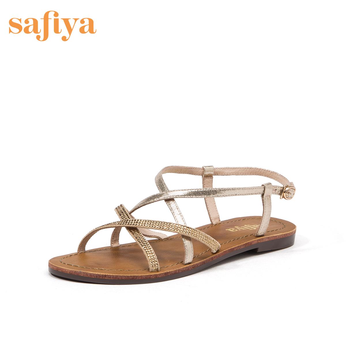 safiya /索菲娅2019春夏新款凉鞋满739.00元可用520元优惠券