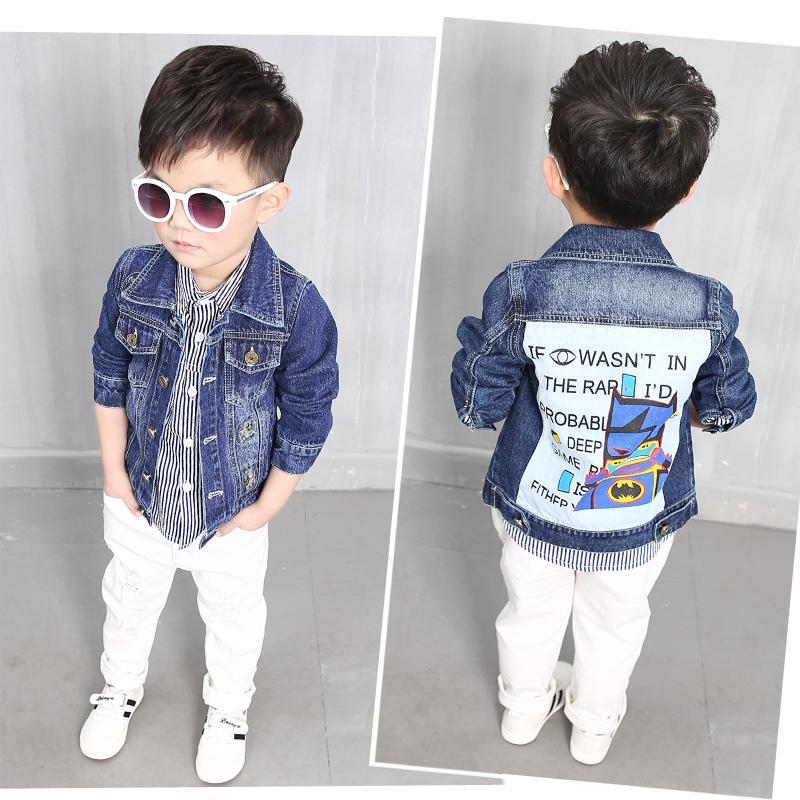 男童牛仔小童寶寶兒童開衫