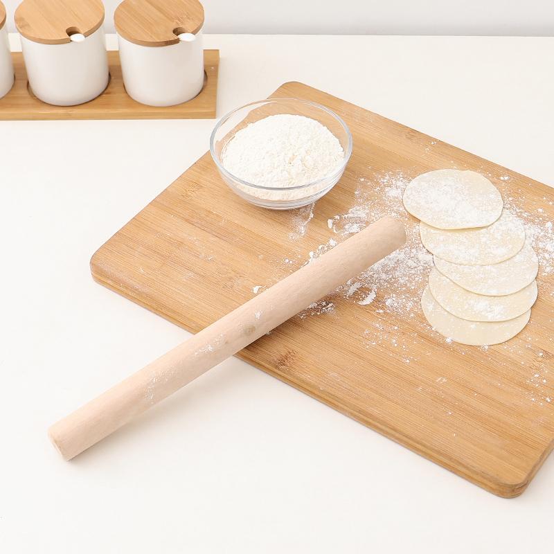 厨房擀面杖实木大号小号压面棍家用饺子皮神器杆面棍面条烘焙工具