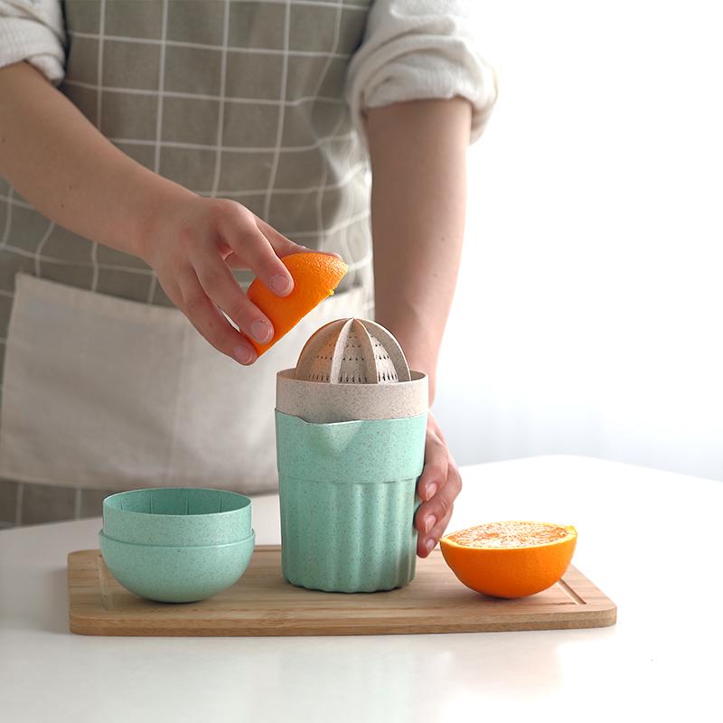 水果榨汁器多 廚房小型 迷你便攜式手動果汁機榨汁機學生