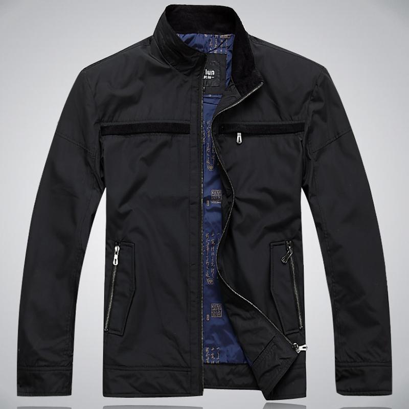 Steering wheel mens jacket mens stand collar jacket casual jacket outdoor spring jacket genuine package mail
