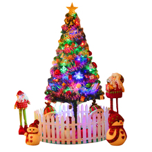 Christmas decorations large small Christmas tree Mini 1.5 m 1.8 m 2.1 m suite set luminous household