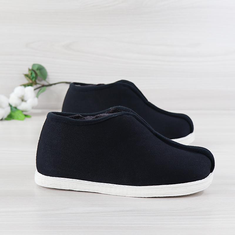 老北京千层底布底男女鞋复古老棉鞋