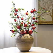 Jingdezhen Ceramic Vase Decoration creative living room porch wine cabinet display field flower arrangement appliance home soft decoration
