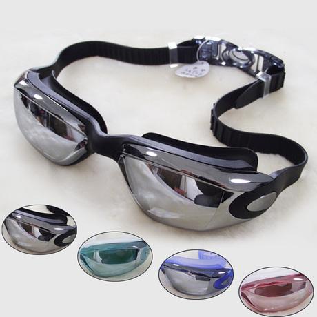 热销10件限时2件3折舒漫高档泳镜防水防雾高清游泳眼镜