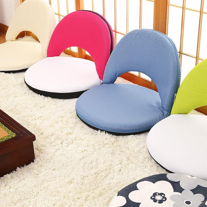懒人沙发宿舍休闲小凳子儿童可拆洗折叠榻榻米坐椅子床上靠背椅