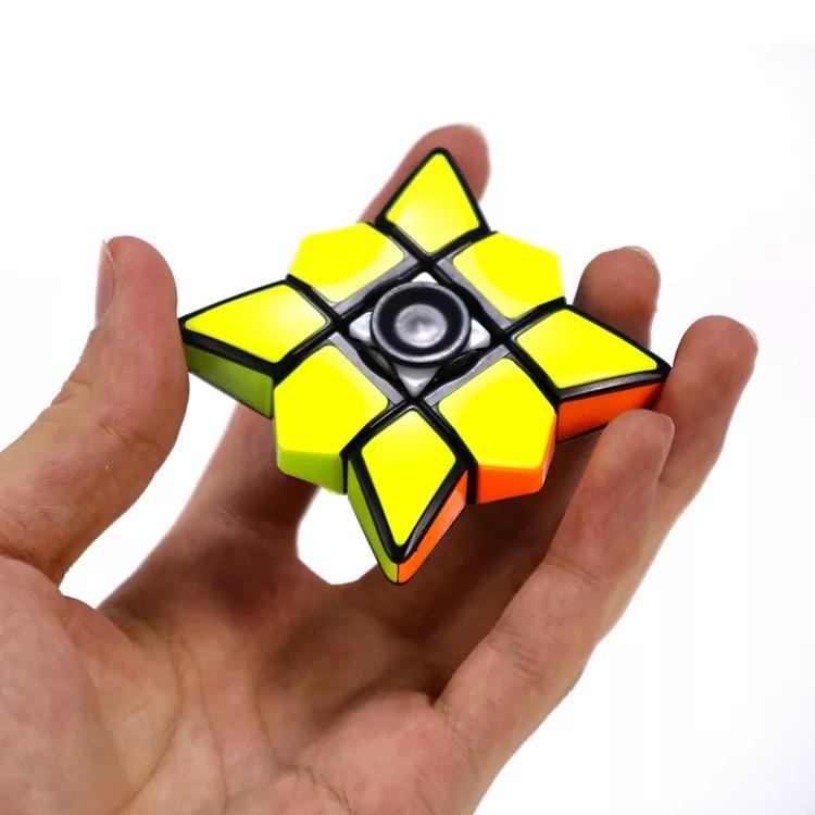 泛新指尖魔方陀螺手指螺旋1阶异形133魔方专业儿童成人减压玩具