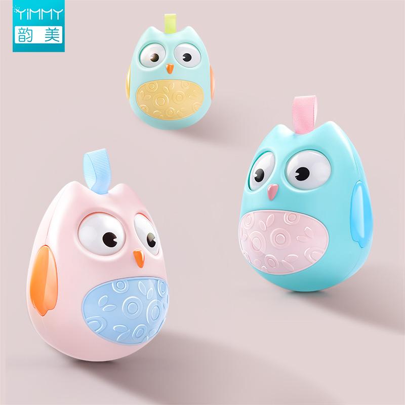 婴儿不倒翁玩具宝宝益智音乐大号0-3-6个9-12月早教娃娃小孩一岁5