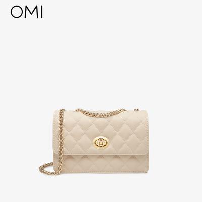 欧米OMI包包女夏2021新款时尚斜挎小香风链条包高级感百搭单肩包