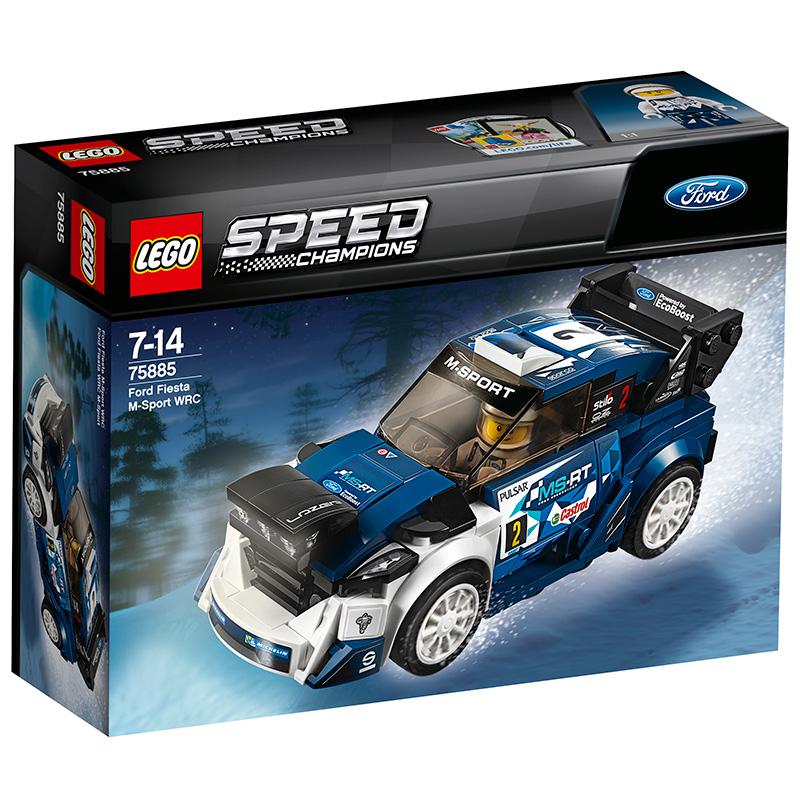 乐高赛车系列 75885 福特嘉年华M-Sport车队世界拉力赛车假一赔十