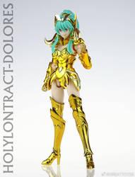 即将现货 GT 女黄金圣斗士 神圣契约 圣衣神话EX 白羊座 多洛莉丝