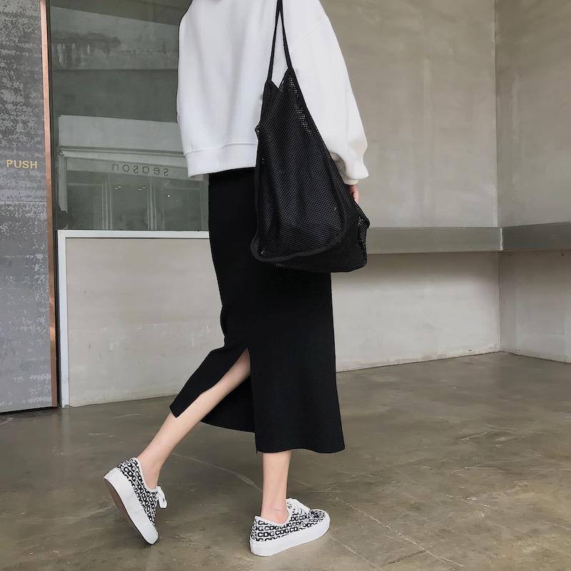 boccalook定制包芯纱秋冬半身裙10-19新券
