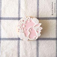 《兔子樱花》手工印章onlyababy猫狗日式和风手帐木质成品橡皮章
