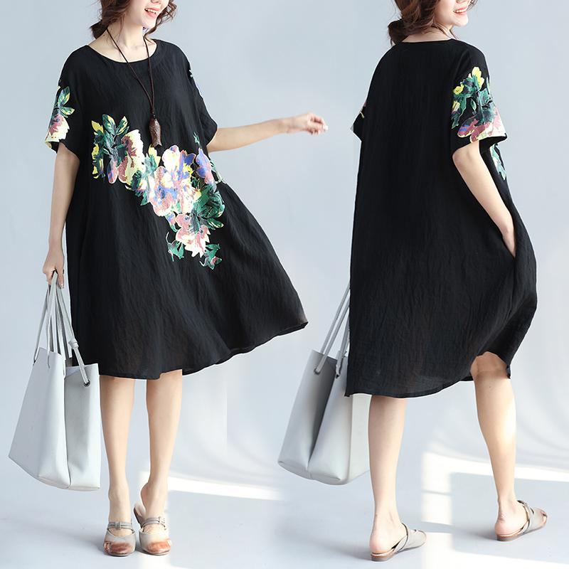 胖mm2018新款夏装300斤加肥加大码女装250特大码女宽松240连衣裙